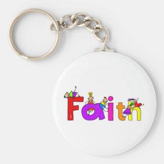 Niños de la fe llavero