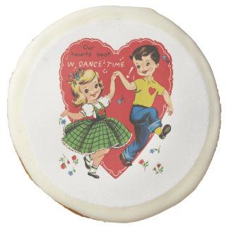Niños de la tarjeta del día de San Valentín del