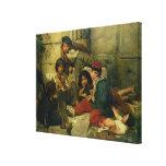 Niños de las calles de París, 1852 Impresión En Lona
