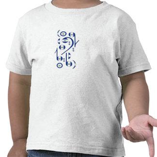 Niños de las notas musicales de la bandera de El S Camisetas