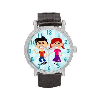 Niños de los años 50 de Hoppin del calcetín Reloj