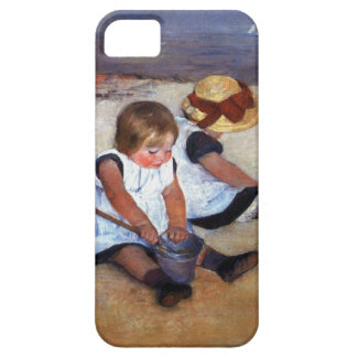 Niños de Mary Cassatt en la playa Funda Para iPhone SE/5/5s