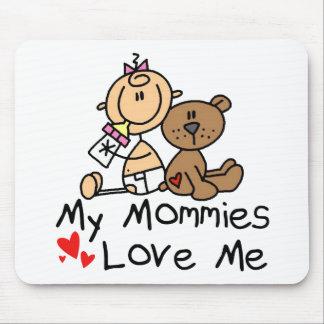 Niños de padres gay alfombrilla de ratón