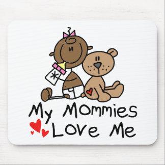 Niños de padres gay alfombrillas de ratón