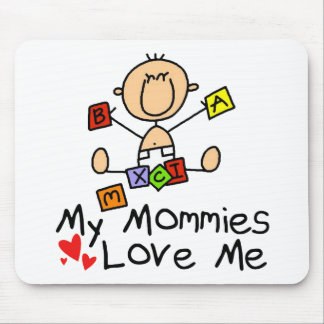 Niños de padres gay tapete de ratón