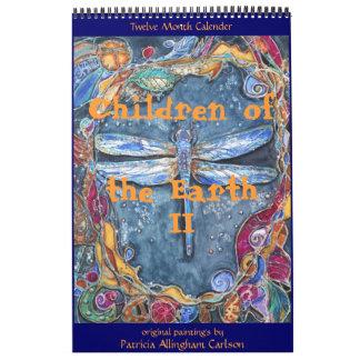 Niños de PMACarlson del calendario de la tierra II