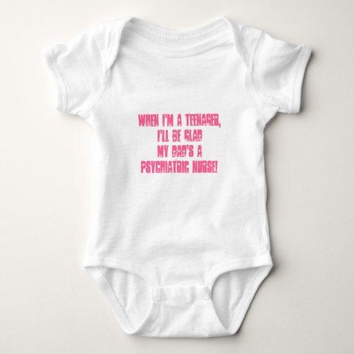 Niños de Psych. Enfermera-Humor Tshirt
