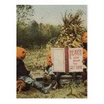 Niños de Pumpkinhead Tarjetas Postales