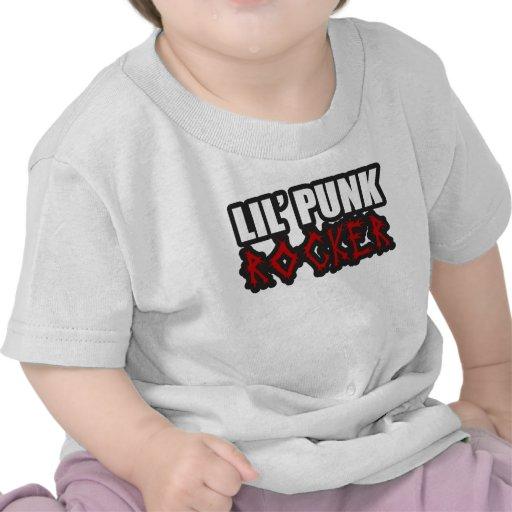 Niños de Punkrock del bebé del punk rock Camisetas