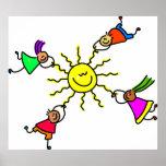 Niños de Sun Poster