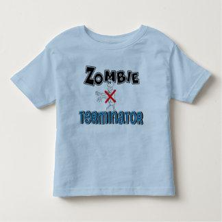 Niños del adaptador del zombi de la diversión playera de bebé