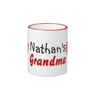 niños del amor de la abuela tazas de café