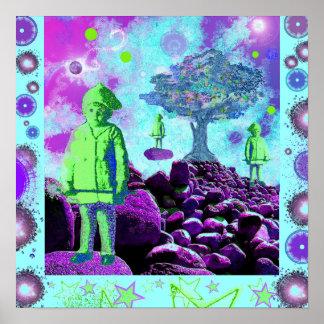 Niños del árbol gritador poster