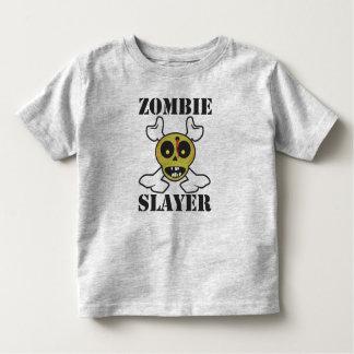 Niños del asesino del zombi playera de bebé