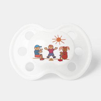Niños del Balanceo-Totter Chupetes De Bebe