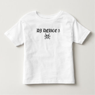 NIÑOS DEL CRÁNEO CROSSBONE DEL DEUCE 5 DE DJ T-SHIRT
