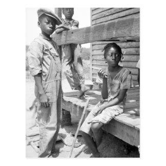 Niños del delta de Mississippi Postal