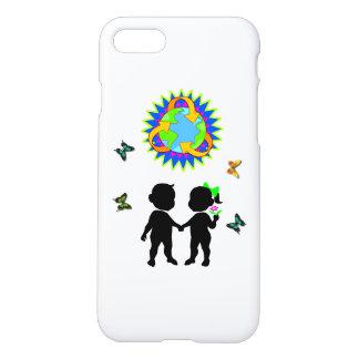 Niños del Día de la Tierra Funda Para iPhone 7