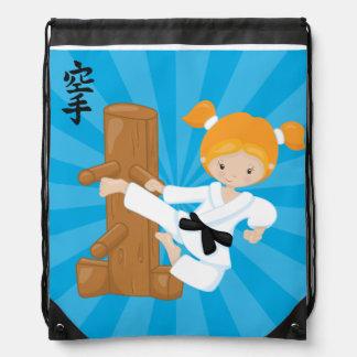 Niños del karate mochilas