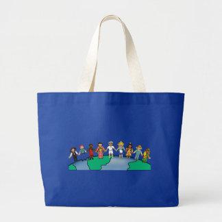 Niños del mundo bolsa de mano