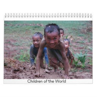 Niños del mundo calendario