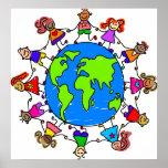 Niños del mundo poster