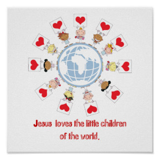 Niños del mundo póster