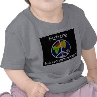 Niños del pacificador camiseta futuros del bebé