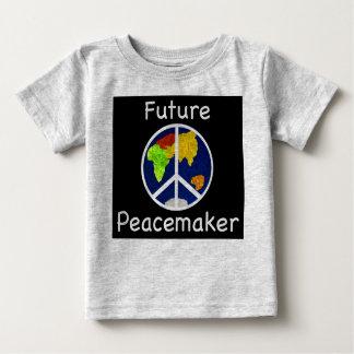 Niños del pacificador/camiseta futuros del bebé playera de bebé