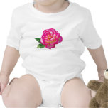Niños del rosa rosado y blanco traje de bebé