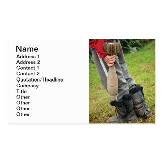 Niños del tiempo de guerra tarjetas personales