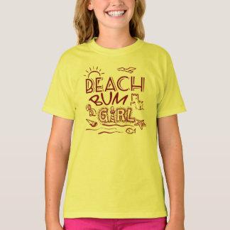 Niños del vago de la playa playera