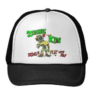 Niños del zombi gorras