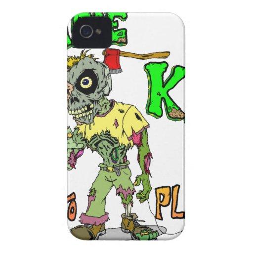 Niños del zombi iPhone 4 coberturas