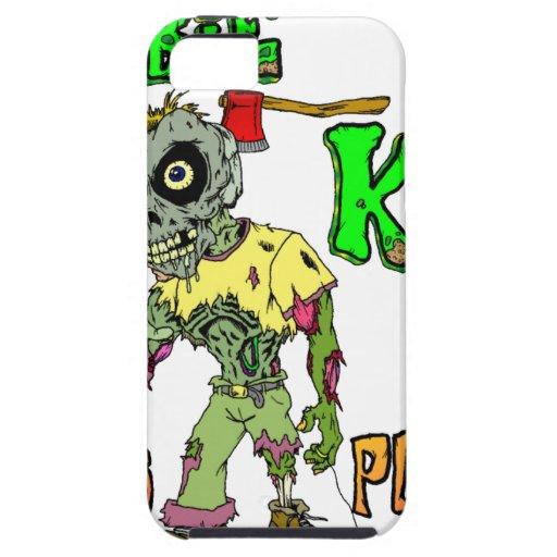 Niños del zombi iPhone 5 Case-Mate coberturas