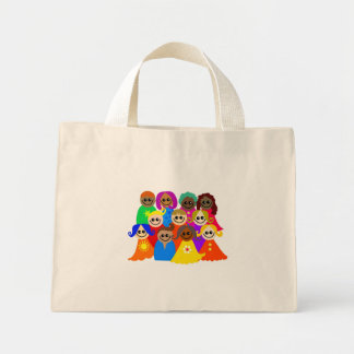 Niños diversos bolsa