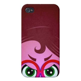 Niños elegantes iPhone 4/4S carcasa
