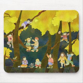 Niños en el cielo Mousepad Alfombrilla De Ratones