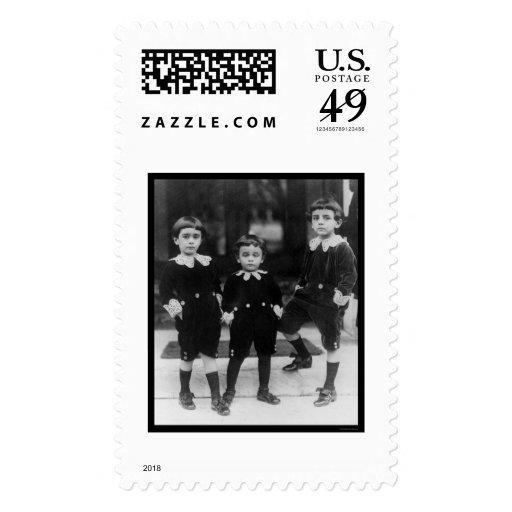 Niños en pequeño señor Fauntleroy Suits 1914