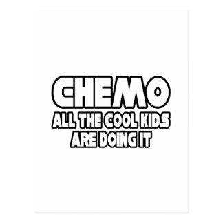 Niños frescos de Chemo… Tarjeta Postal