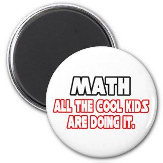 Niños frescos de la matemáticas… iman de frigorífico