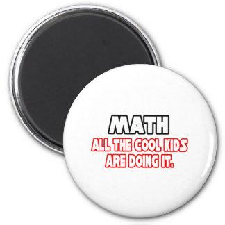 Niños frescos de la matemáticas… imanes