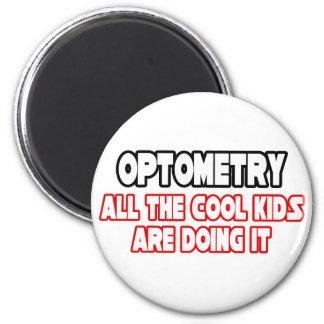 Niños frescos de la optometría… iman para frigorífico