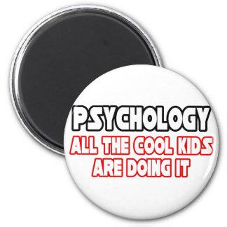 Niños frescos de la psicología… imán para frigorifico