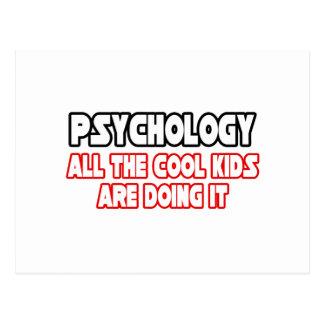 Niños frescos de la psicología… tarjeta postal