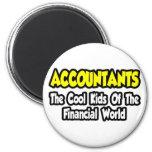 Niños frescos de los contables… del mundo financie imán para frigorífico