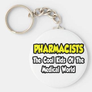 Niños frescos de los farmacéuticos… del mundo médi llaveros