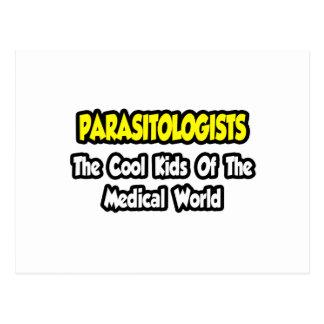Niños frescos de los parasitólogos… del mundo postales