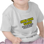 Niños frescos de los profesores de escuela camisetas