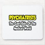 Niños frescos de los psiquiatras… del mundo médico tapetes de ratón